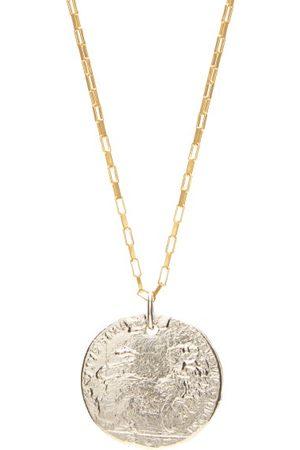 Alighieri The Snow Lion -plated Necklace - Mens - Multi