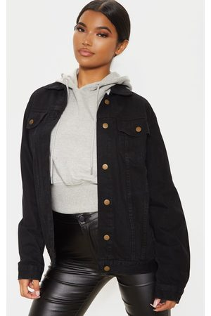 PRETTYLITTLETHING Oversized Denim Jacket