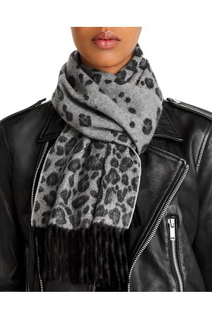 Bloomingdale's Leopard Cashmere Scarf - 100% Exclusive