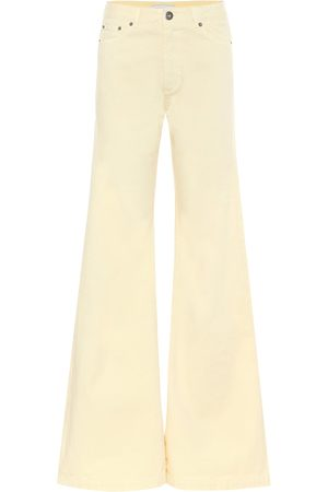 MATTHEW ADAMS DOLAN Women High Waisted - High-rise flared jeans