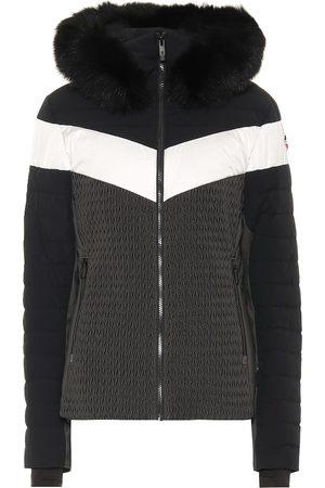 Fusalp Amaly faux fur-trimmed ski jacket