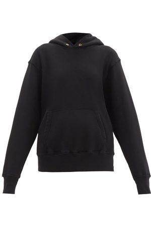 Les Tien Women Sweatshirts - Brushed-back Cotton Hooded Sweatshirt - Womens