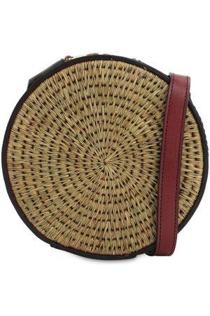 KHOKHO Sindi Raffia Circle Bag