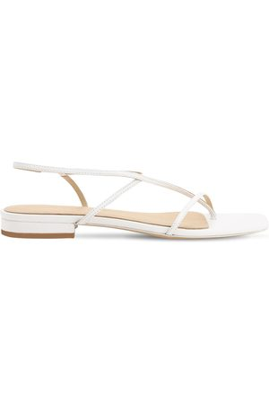 Studio Amelia 10mm Leather Thong Sandals