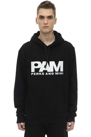 PAM - PERKS AND MINI Btc Logo Unisex Cotton Sweatshirt Hoodie