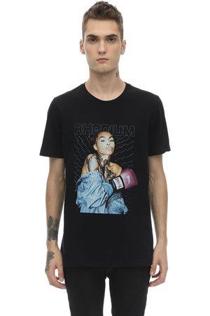 RH45 Milo Embellished Cotton Jersey T-shirt