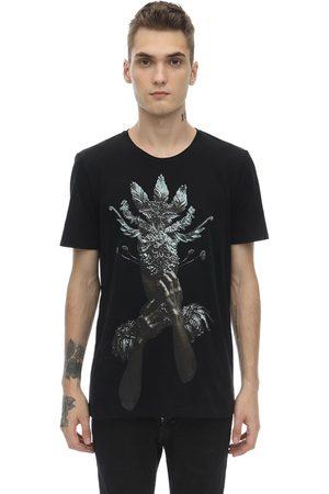 RH45 Flaka Embellished Cotton Jersey T-shirt