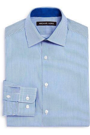 Michael Kors Boys' Striped Dress Shirt - Big Kid