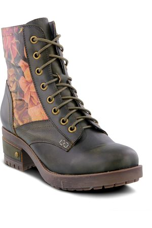 L'ARTISTE Women's Marty Lace-Up Boot