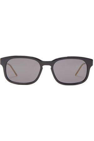 Gucci Rectangular Acetate Sunglasses - Mens