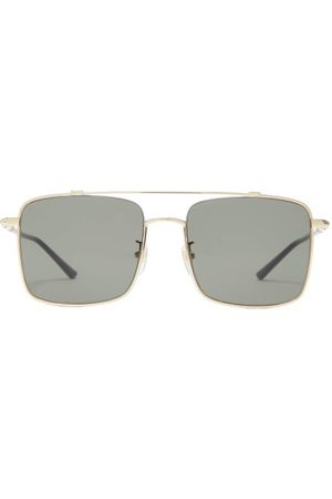 Gucci Square Metal Sunglasses - Mens