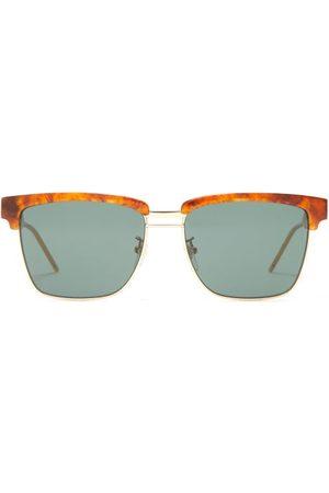 Gucci Square Acetate Sunglasses - Mens - Tortoiseshell