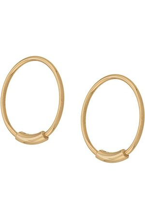 Maria Black Men Earrings - Basic S hoop earrings