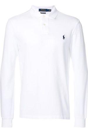 Polo Ralph Lauren Logo embroidered long-sleeve polo shirt