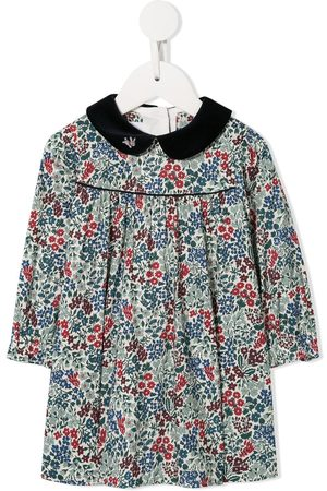 Familiar Peter Pan collar dress - Multicolour