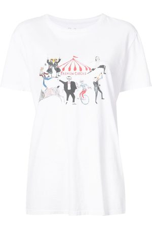 Unfortunate Portrait Fashion circus print T-shirt
