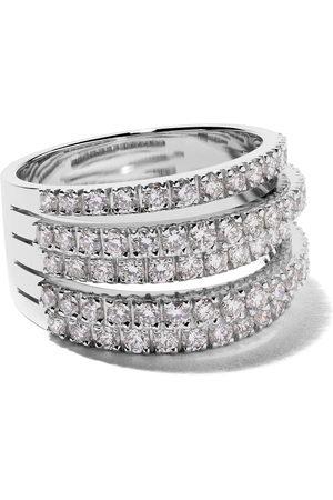 De Beers Jewellers 18kt Five Line diamond ring