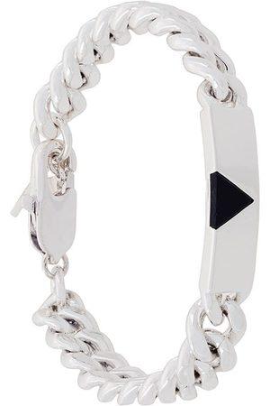 Coup De Coeur Bracelets - Pyramid Tag bracelet - Metallic