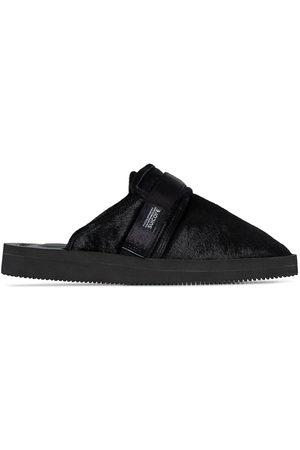 Suicoke Men Flip Flops - Zavo textured slippers
