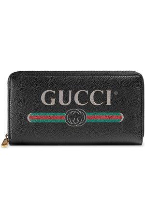 Gucci Logo zip around wallet