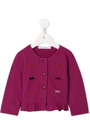 Familiar Cardigans - Bow detailed cardigan
