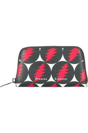 Proenza Schouler Grateful Dead Trapeze Zip Compact Wallet - Multicolour