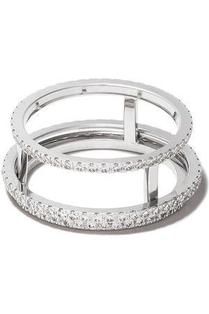 De Beers Jewellers Women Rings - 18kt The Horizon full pavé diamond ring