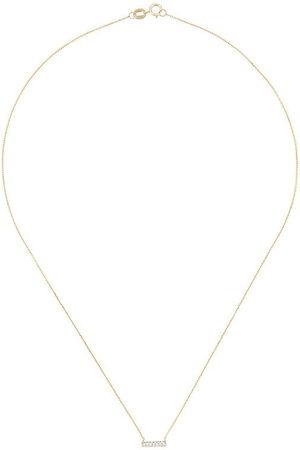 Dana Rebecca Designs 14kt Sylvie Rose diamond bar necklace