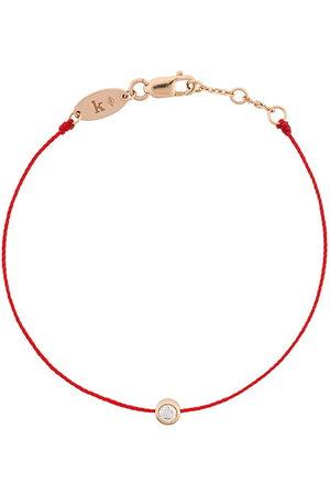 Redline 18kt rose and diamond string bracelet