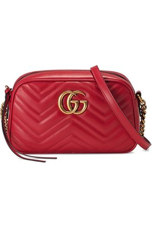 Gucci Women Purses - Marmont small matelassé shoulder bag