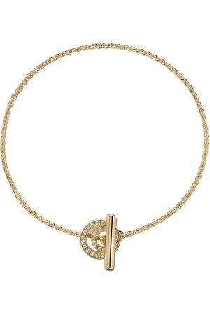 Georg Jensen 18kt Halo brilliant cut diamond bracelet