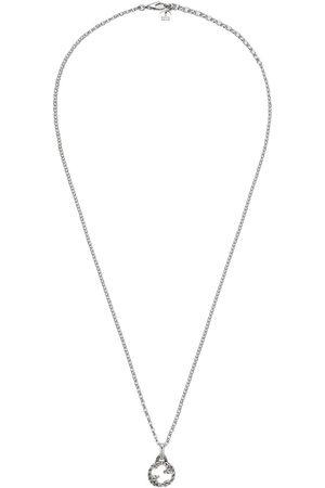 Gucci Interlocking G pendant necklace - Metallic