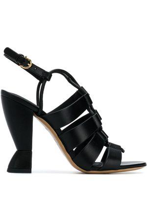 Salvatore Ferragamo Women Sandals - Sculpted heel sandals