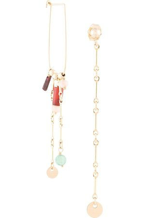 Petite Grand Multi Bead earrings