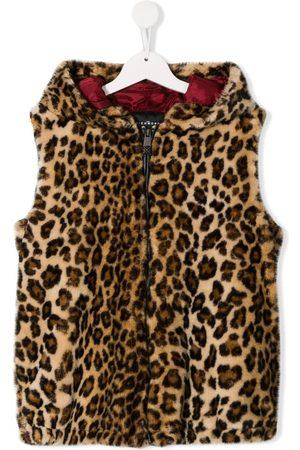 John Richmond Junior Gilets - Leopard print gilet