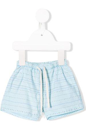 KNOT Geometric print shorts