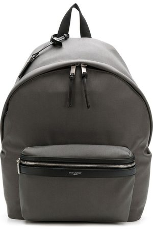 Saint Laurent Men Rucksacks - Oversized backpack - Grey