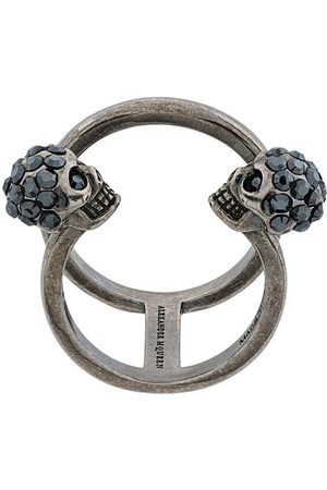 Alexander McQueen Women Rings - Skull cuff ring - Metallic