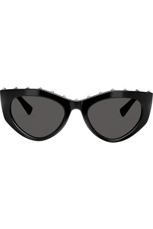 VALENTINO Studded slim cat-eye frames sunglasses