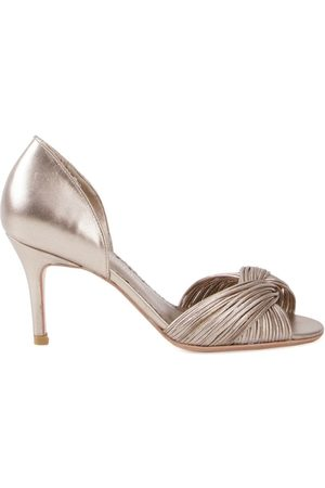 Sarah Chofakian Women Pumps - Mid-heel pumps - Metallic