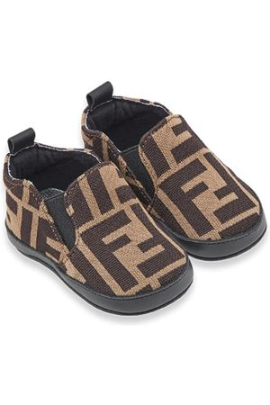 Fendi Flat Shoes - FF slip-on sneakers