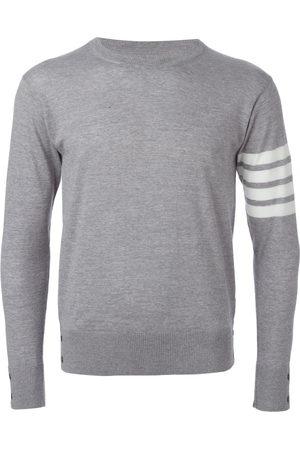 Thom Browne 4-Bar Merino Pullover - Grey