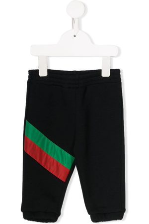 Gucci Pants - Stripe detailed jogging trousers