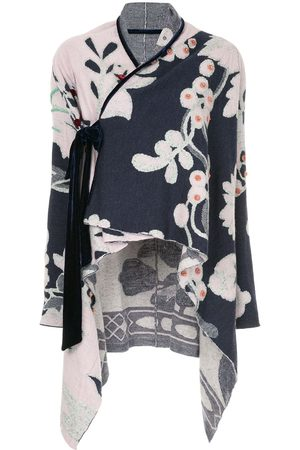 Onefifteen Women Jackets - Floral pattern loose jacket