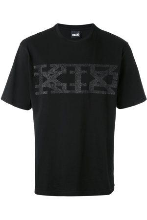 KTZ T-shirts - Glitter logo print T-shirt