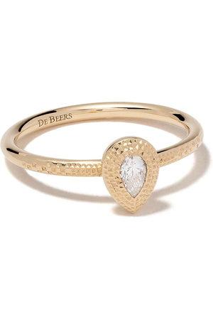 De Beers Jewellers Women Rings - 18kt Talisman pear-shaped diamond ring