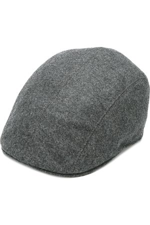Brunello Cucinelli Adjustable flat cap - Grey