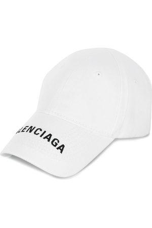 Balenciaga Women Caps - Embroidered logo baseball cap
