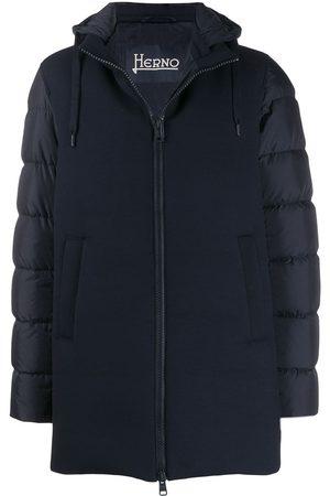 HERNO Men Coats - Hooded down coat