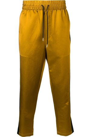 Ami Men Sweatpants - Track Pants With Contrasted Side Bands